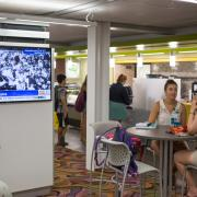 The cafe at the Learning Commons