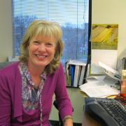 Professor Nancy Langguth from the College of Education