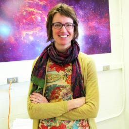 Dr. Cornelia Lang, Department of Physics and Astronomy