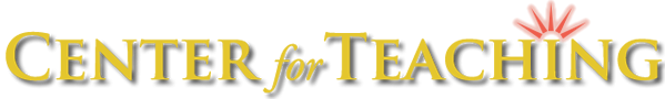 Center For Teaching Logo